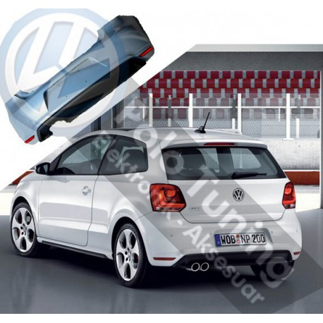 Polo 6r - 6c1 2010 - 2015 GTI Arka Tampon